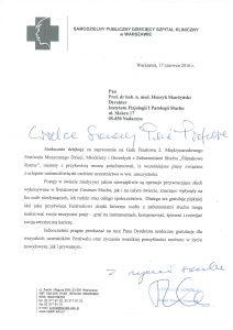 Robert Tomasz Krawczyk, Dyrektor Samodzielnego Publicznego Dziecięca Szpitala Klinicznego wWarszawie