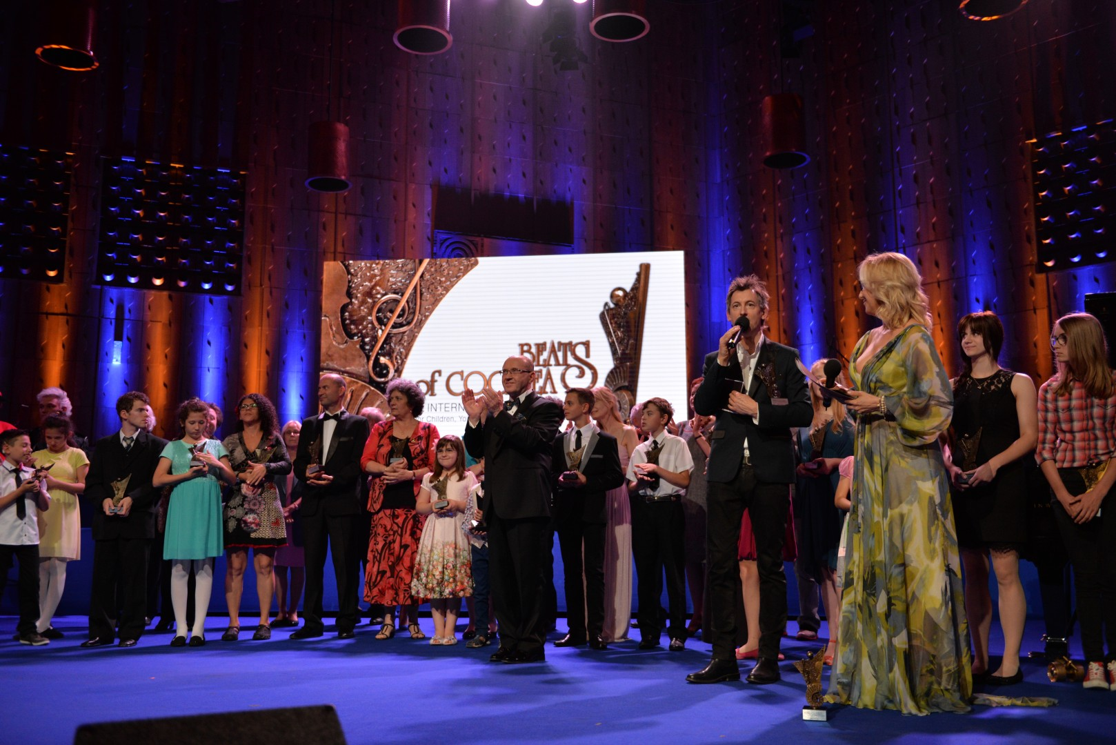 "Gala Ceremony of the 1st International Music Festival for Children, Youths and Adults with Hearing Disorders ""Beats of Cochlea"""